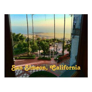 Det San Simeon hav beskådar vykortet Vykort