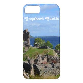Det sceniska Urquhart slottet fördärvar