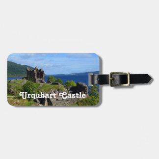 Det sceniska Urquhart slottet fördärvar Bagagebricka
