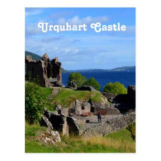 Det sceniska Urquhart slottet fördärvar Vykort