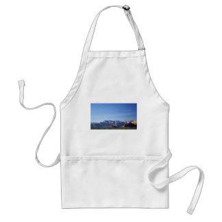 Det Sedona berg landskap Förkläde