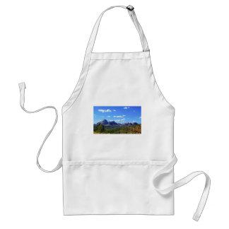 Det Sedona berg landskap staden av Sedonna Förkläde