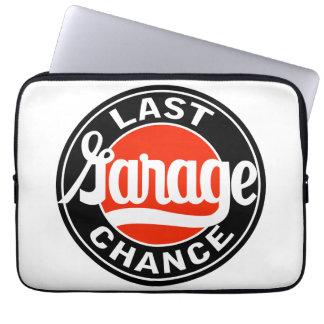 Det sist garage riskerar vintage undertecknar repr laptop sleeve