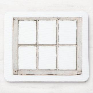 Det sjaskiga fönstret förser med rutor musmatta