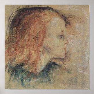 Det sjuka barnet, 1885 poster