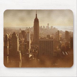 Det skadada fotoet verkställer New York Musmatta