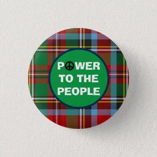 Det skotska självständighetfolket driver mini knapp rund 3.2 cm