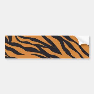 Det skraj djur för tigerrandvilden mönstrar gåvor bildekal