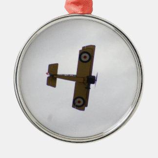 Det Sopwith kamelflyget modellerar Julgransprydnad Metall