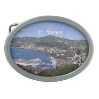 Det St Thomas bältet spänner fast