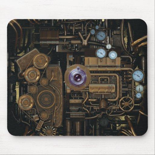 Det Steampunk mätinstrumentet utrustar kameran Mus Matta