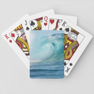 Det stora Stilla havet vinkar avbrott Spel Kort
