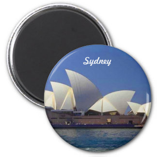 Det Sydney Australien operahuset reser Magnet Rund 5.7 Cm