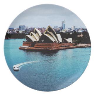Det Sydney operahuset Tallrik