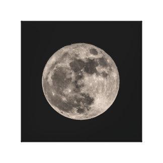 Det toppna trycket för det måneNovember 2016 Canvastryck
