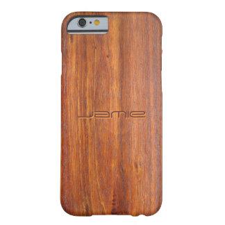 Det trä skräddarsy fodral för iPhone 6 täcker Barely There iPhone 6 Fodral