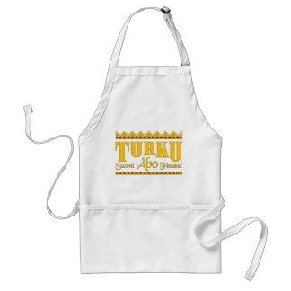 Det Turku Finland förklädet - välj stil Förkläde
