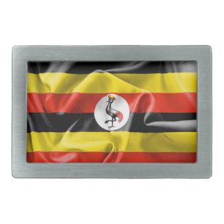 Det Uganda flaggabältet spänner fast