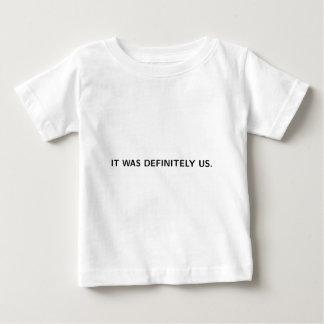 DET VAR BESTÄMT US (på vit) Tee Shirts
