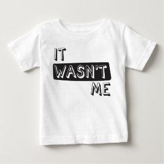 Det var inte mig skjortan tröja