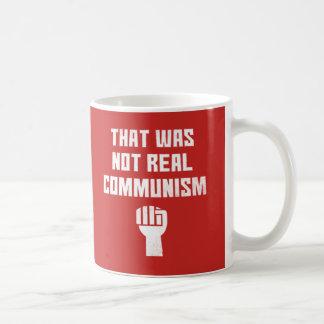 Det var inte verklig kommunism kaffemugg