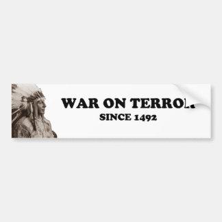 Det verkliga krig på skräck bildekal