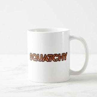 det verkliga squatchy kaffemugg