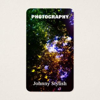 Det vertikala fotoet avbildar naturligt täcker visitkort
