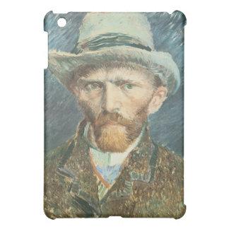 Det Vincent Van Gogh självporträtt med grå färg iPad Mini Skydd