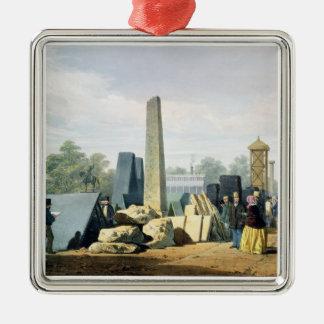 """Det yttre, från """"Dickinsons omfattande Pict Julgransprydnad Metall"""