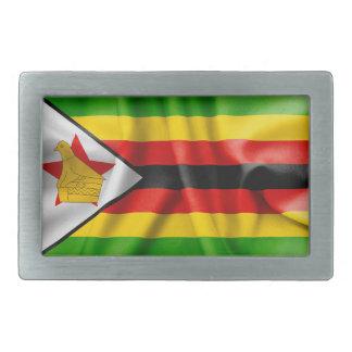Det Zimbabwe flaggabältet spänner fast