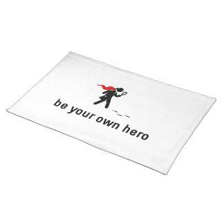 Detektiv- hjälte bordstablett
