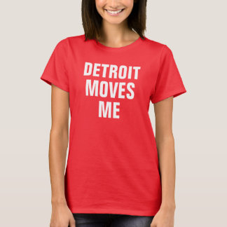 Detroit flyttningar mig t shirts