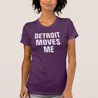 Detroit flyttningar mig tee shirts