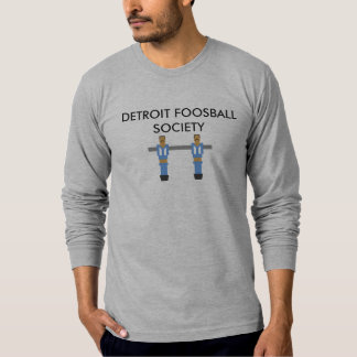 Detroit Foosball samhälleskjorta Tee Shirt
