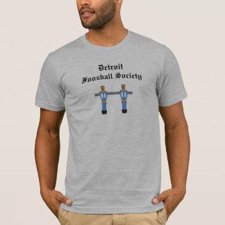 Detroit Foosball samhälleskjorta Tshirts