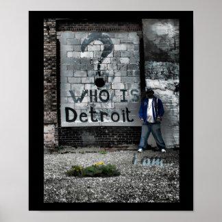 Detroit (I-förmiddag) Poster