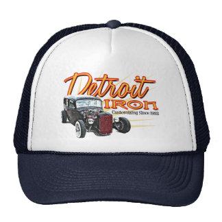 Detroit järn baseball hat