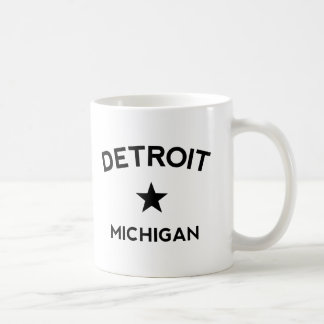 Detroit Michigan Kaffemugg