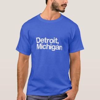 Detroit Michigan Tshirts