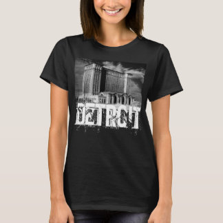 Detroit T-tröja för women. Tee Shirts