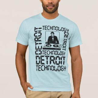 Detroit teknologi t shirt