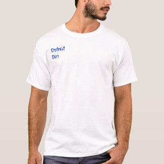 Detroit universitetslärare tee shirts