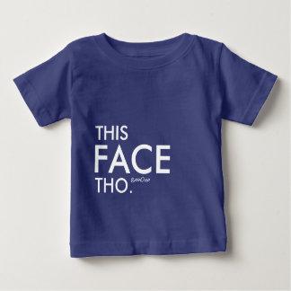 Detta ansikte Tho T Shirts