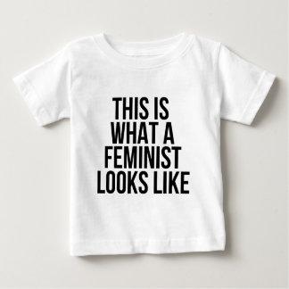 Detta är en vilken feminist ser lik - feminism tee shirts