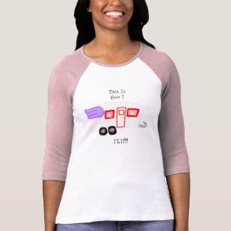 Detta är hur JAG FLYGER!!!!! T Shirt
