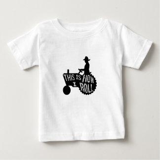 Detta är hur jag rullar bondestil t-shirts