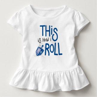 Detta är hur jag rullar Hanukkah rufsar skjortan T-shirt