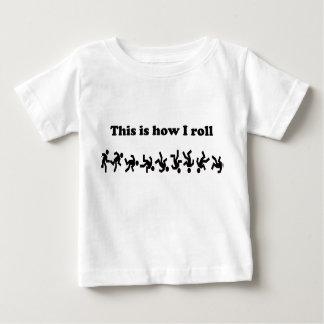 Detta är hur jag rullar t-shirts