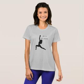 Detta är ögonblicket -- yogat-skjorta tee